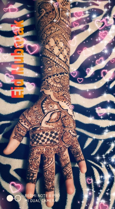 Eid Special Mehendi | Ishrah_khan.T | Digital Drawing | PENUP