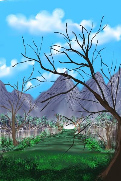 Landscape Digital Drawing   Ashlee   PENUP