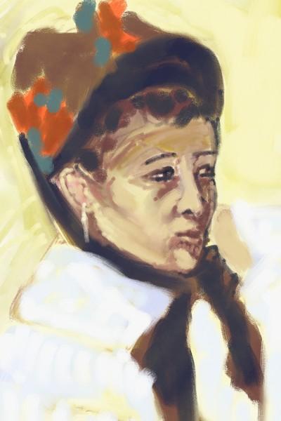 Mary Stevenson C***att | Hypnorino | Digital Drawing | PENUP