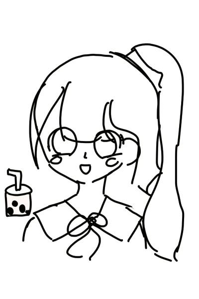 버블티팀 그림 | hasul | Digital Drawing | PENUP