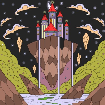 castle beyond this world | ABHISHEKABY | Digital Drawing | PENUP
