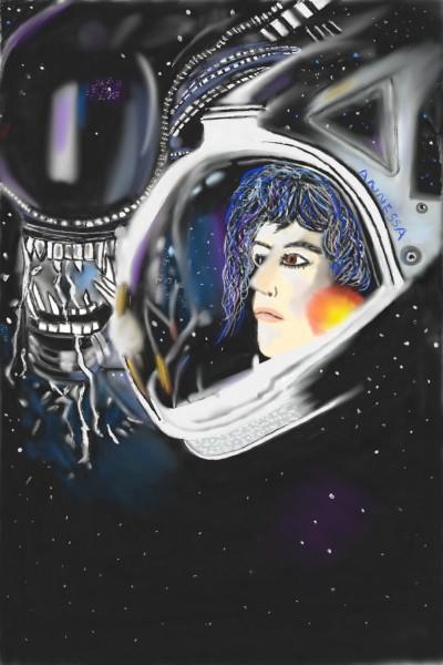 Alien  | Nessarocks09 | Digital Drawing | PENUP