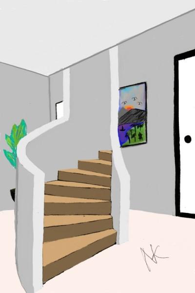 stairs to my room | Nicktokan | Digital Drawing | PENUP