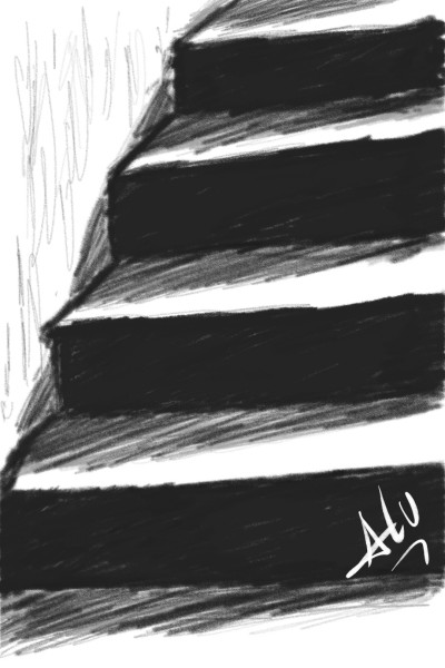 Just The Stairs | ALUcinanteMENTE | Digital Drawing | PENUP