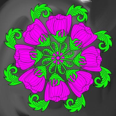 flowers   Boomer   Digital Drawing   PENUP