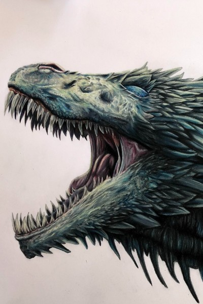 dragon | pipefitter1 | Digital Drawing | PENUP