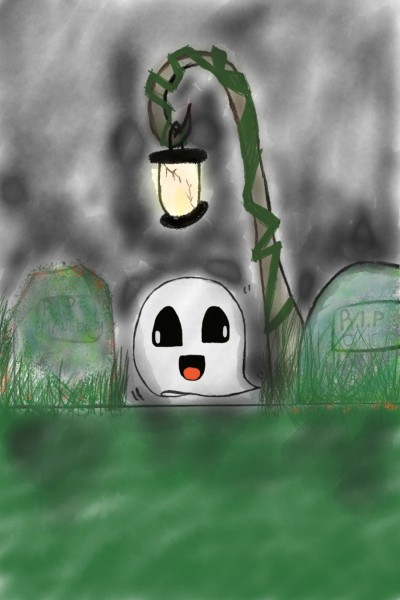 happy ghost  | cassstar | Digital Drawing | PENUP