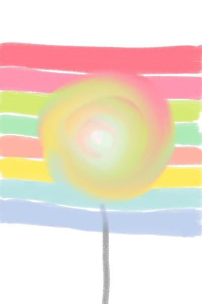 무지개맛 솜사탕 | Cherry.Cat | Digital Drawing | PENUP