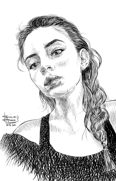 Maria  | jericojhones | Digital Drawing | PENUP