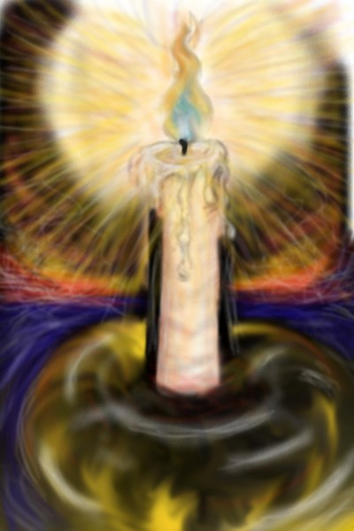 one candle power  | DaddyDoodles84 | Digital Drawing | PENUP