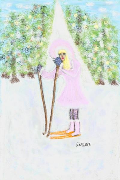 Cross Country Skier | Nessarocks09 | Digital Drawing | PENUP