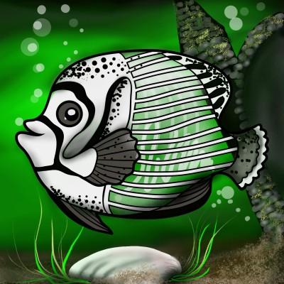 Transparent Fish   ramdan1111   Digital Drawing   PENUP