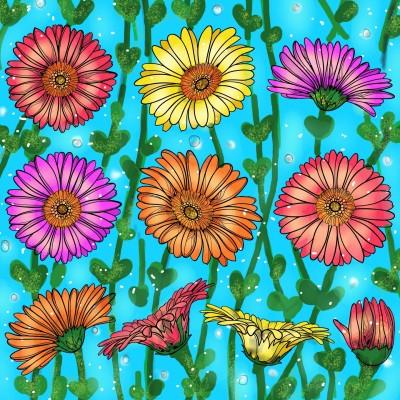 Flower power ♡♡♡ | Sylvia | Digital Drawing | PENUP