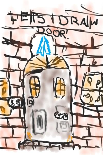 let's draw door   Maxie1913   Digital Drawing   PENUP