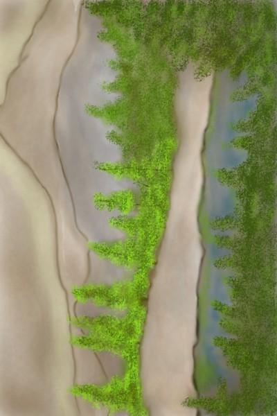 Landscape Digital Drawing | TeeTee | PENUP