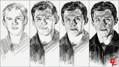 ☆[YouTube] Tom Holland ■ process | 4ocketart | Digital Drawing | PENUP