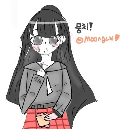 뭉치 팬아트 | _yudam | Digital Drawing | PENUP