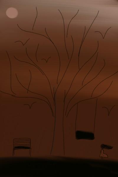 Darkened  World    Sayaali   Digital Drawing   PENUP