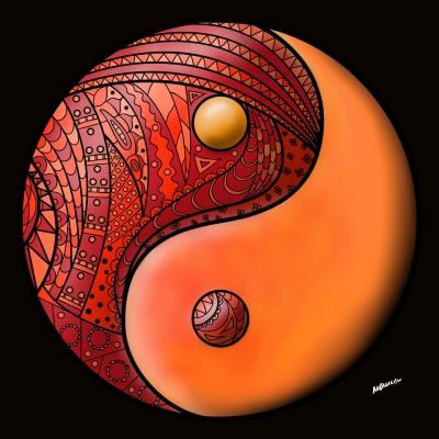 Yin-yang   Monica.Baumann   Digital Drawing   PENUP