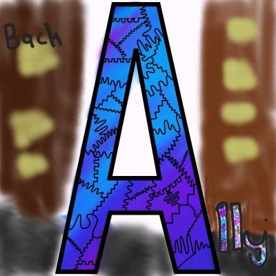 back Alley   Peanut   Digital Drawing   PENUP