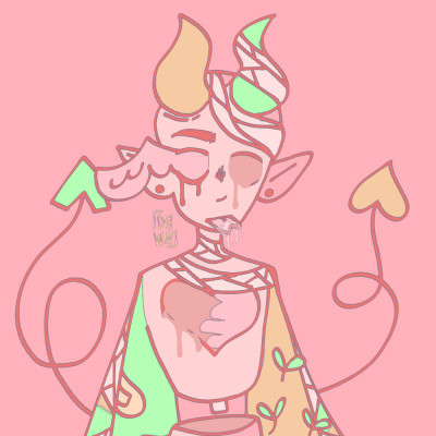 lil demon babey   darwiin   Digital Drawing   PENUP