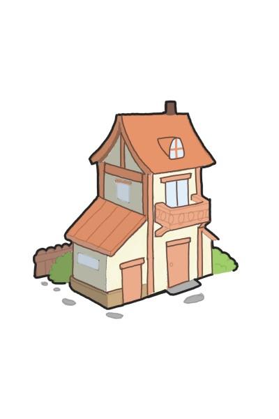 Woody villa | armin | Digital Drawing | PENUP