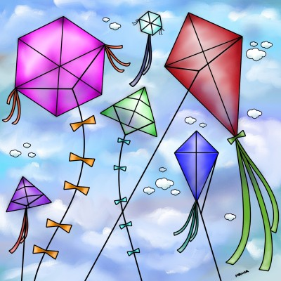 Kite   Monica.Baumann   Digital Drawing   PENUP