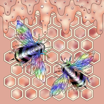 Hey, honey!  | Mar_T | Digital Drawing | PENUP