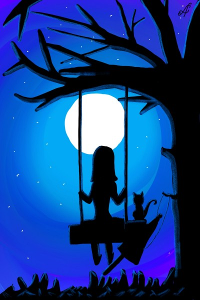 Wonderful Moon | alina_s | Digital Drawing | PENUP