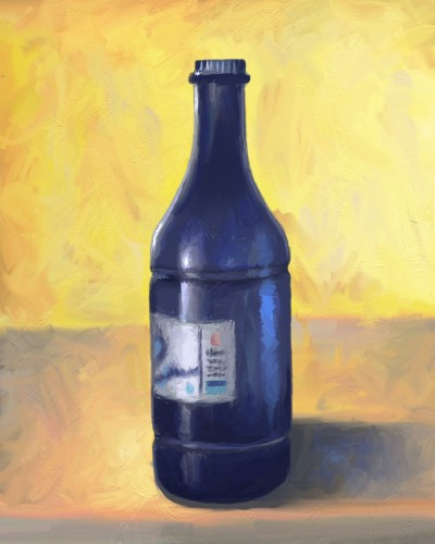 bottle of water | zak | Digital Drawing | PENUP