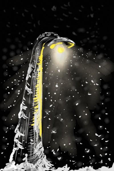 Yellow light  | AntoineKhanji | Digital Drawing | PENUP