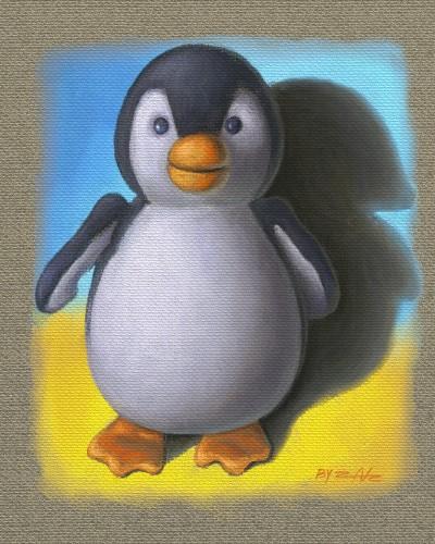 Penguin Plush | zak | Digital Drawing | PENUP