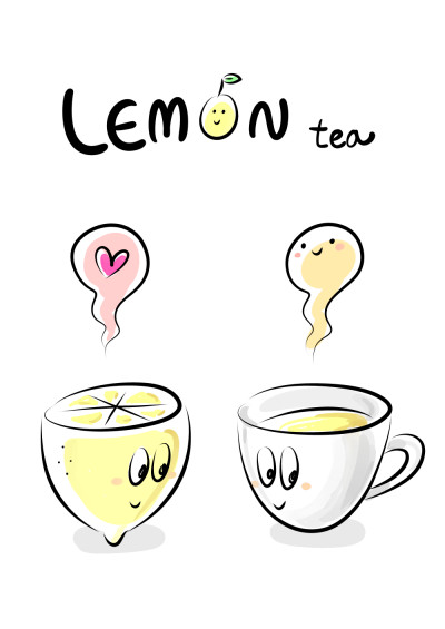 Lemon Tea | feltboy | Digital Drawing | PENUP