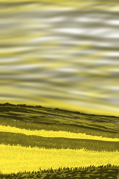 Yellow fields | AntoineKhanji | Digital Drawing | PENUP