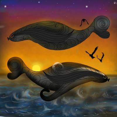 BALLENAS- WHALES | ramdan1111 | Digital Drawing | PENUP
