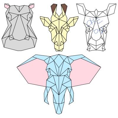 동물들 | Sunset_MOON | Digital Drawing | PENUP