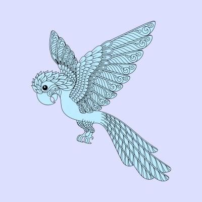 A bird | Sunset_MOON | Digital Drawing | PENUP