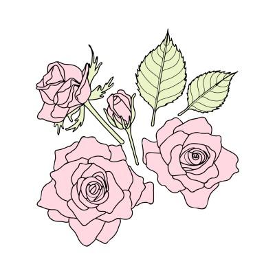 Roses | Sunset_MOON | Digital Drawing | PENUP