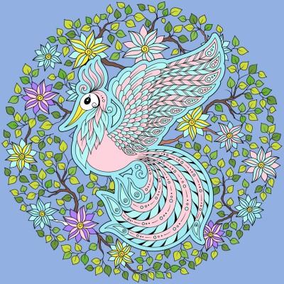 컬러풀공작,colorful bird | sohui | Digital Drawing | PENUP