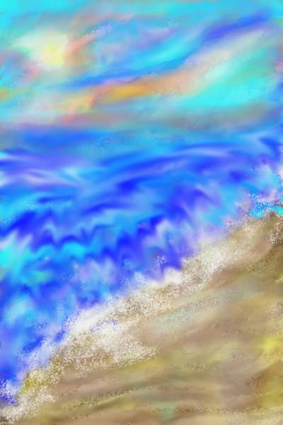 Agua va, mar que queda   LaBorkan   Digital Drawing   PENUP