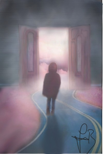 Door to clouds | IulianaBacriu | Digital Drawing | PENUP