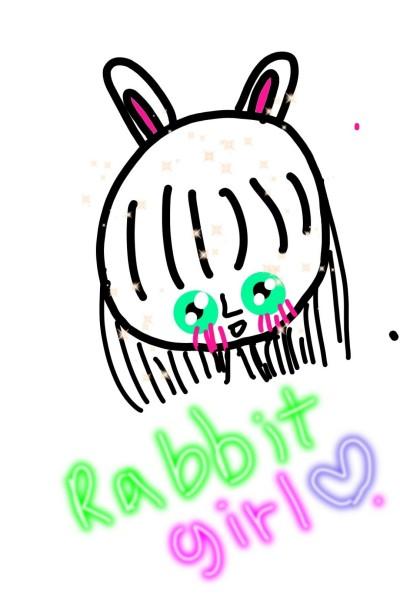 rabbit girl님 팬앝 | LUNA | Digital Drawing | PENUP