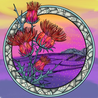 Desert flowers  | Sylvia | Digital Drawing | PENUP
