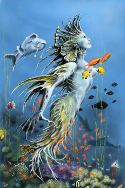 under sea world | nuni | Digital Drawing | PENUP