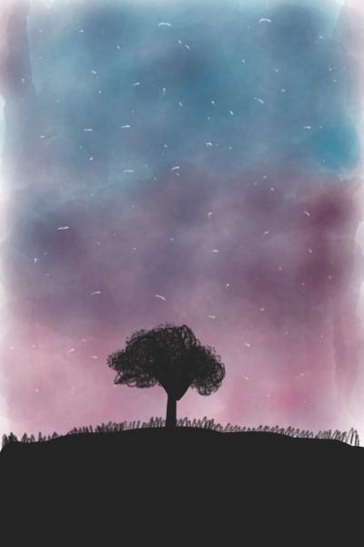 Sky with tree | JessicaPlayz | Digital Drawing | PENUP