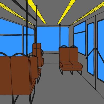 bus | Andres | Digital Drawing | PENUP