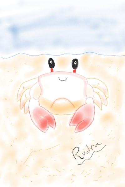 cute crab | RUDRANIL | Digital Drawing | PENUP