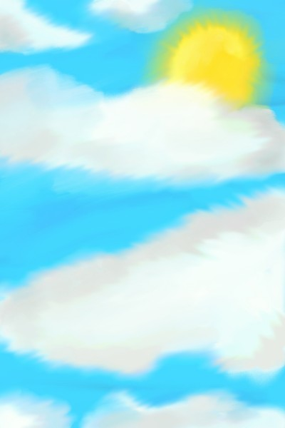 Clouds in the Sky | Raphii2612 | Digital Drawing | PENUP