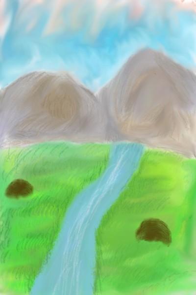 Mystic Mountain  | Dani | Digital Drawing | PENUP