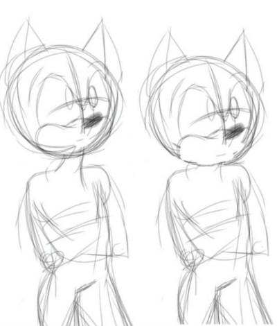 its ok if ur sonic character has a neck   Mr.DOODOO   Digital Drawing   PENUP